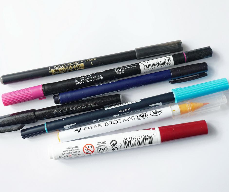 Nowoczesna kaligrafia – recenzja brush penów